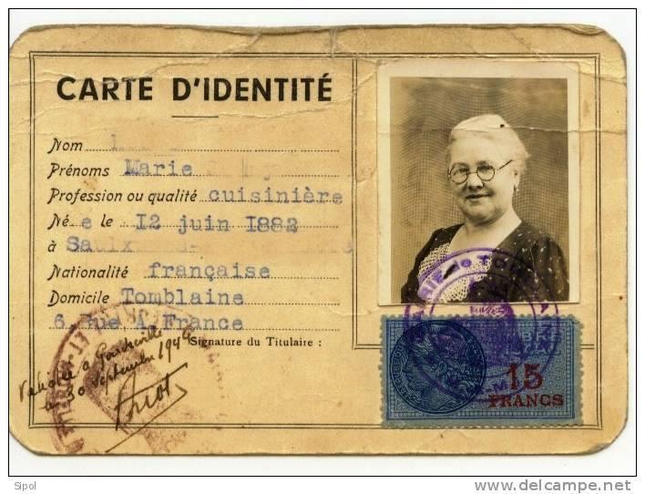 Cartes d'identité 10368111