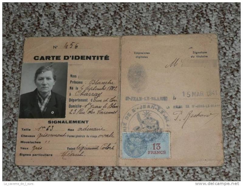 Cartes d'identité 10391510