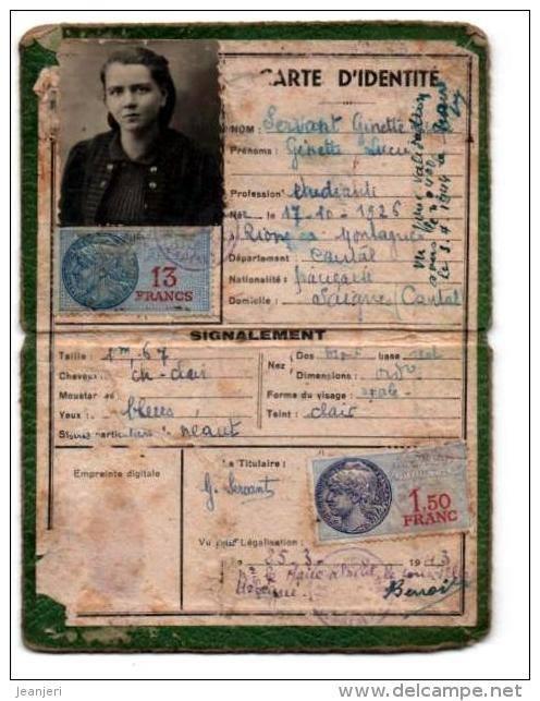 Cartes d'identité 10649811
