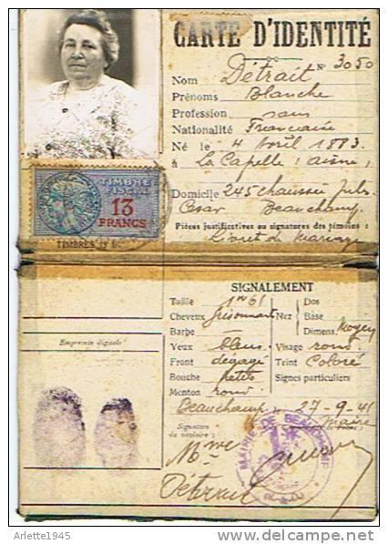 Cartes d'identité 13741710