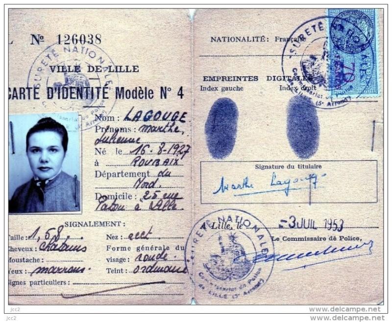 Cartes d'identité 19172410