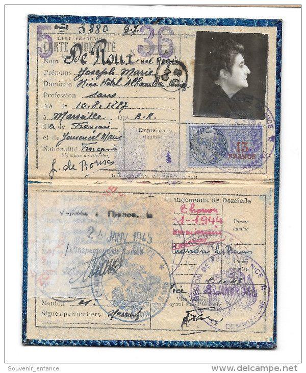 Cartes d'identité 19172910