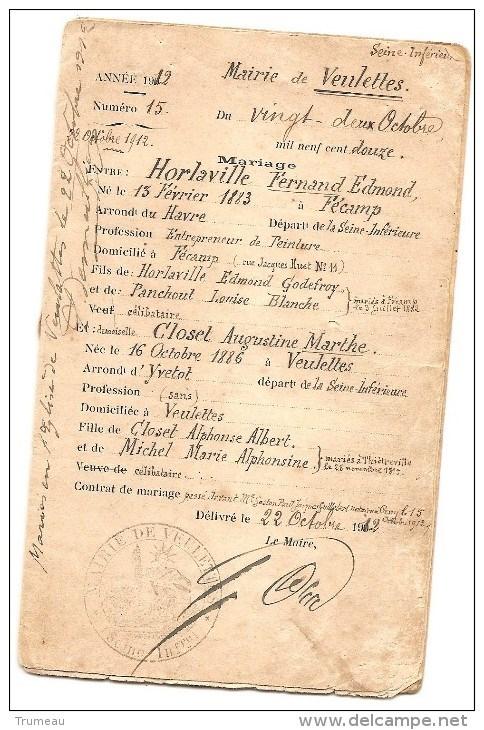 Livrets de famille 19188011