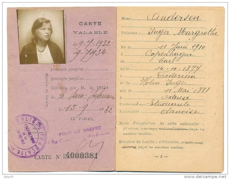 Cartes d'identité 19190810