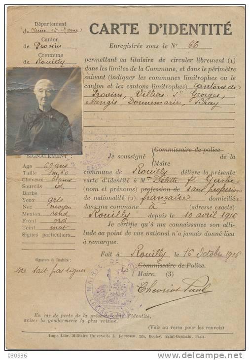 Cartes d'identité 19192212