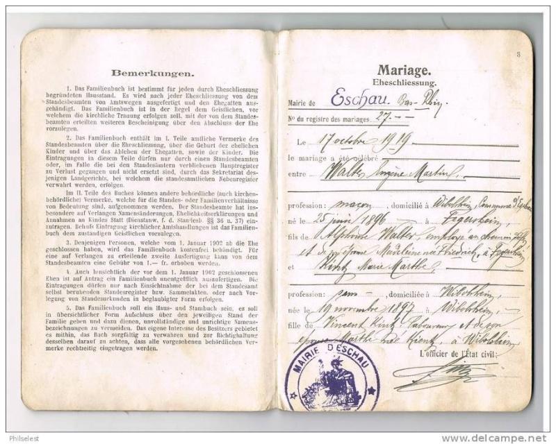 Livrets de famille 19298910