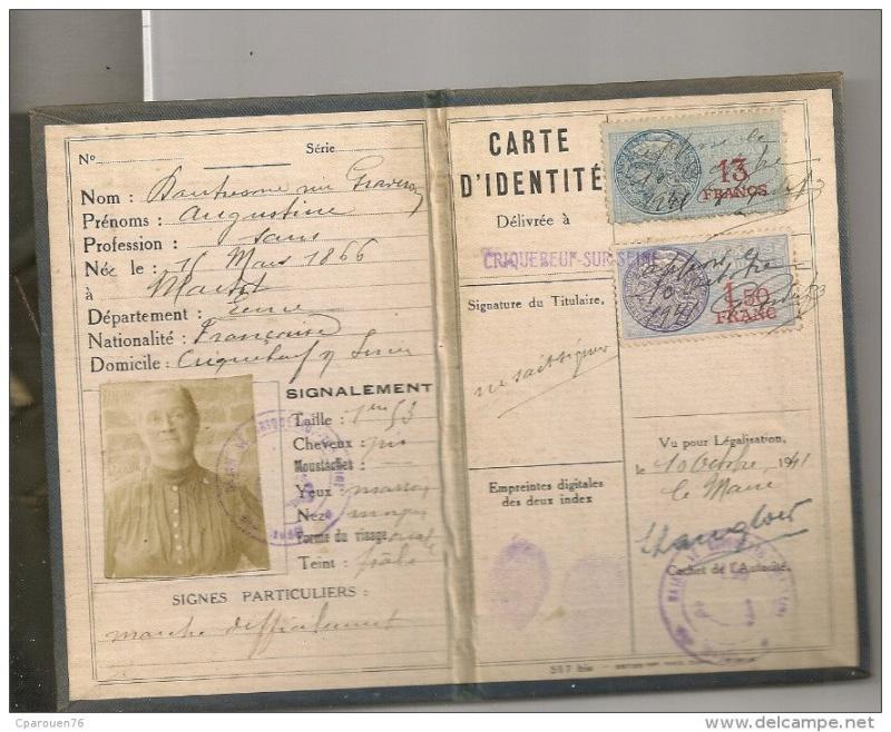 Cartes d'identité 19357610