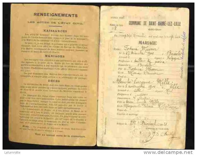 Livrets de famille 19364711