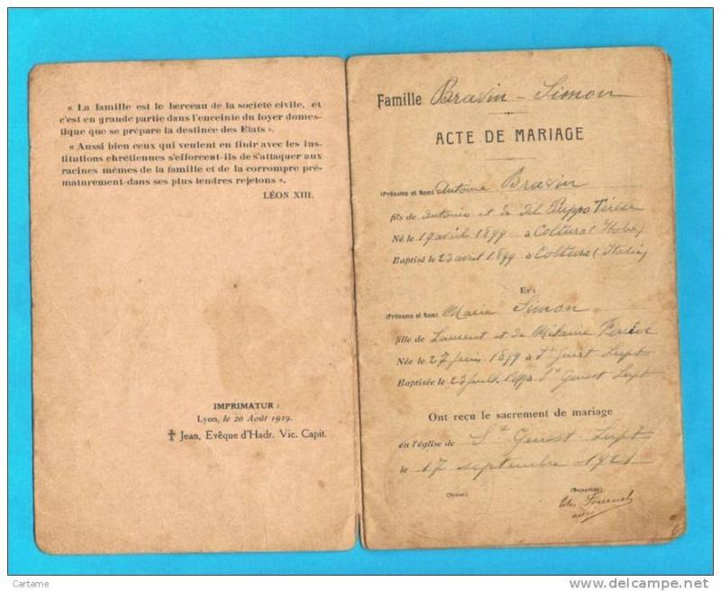 Livrets de famille 19369110