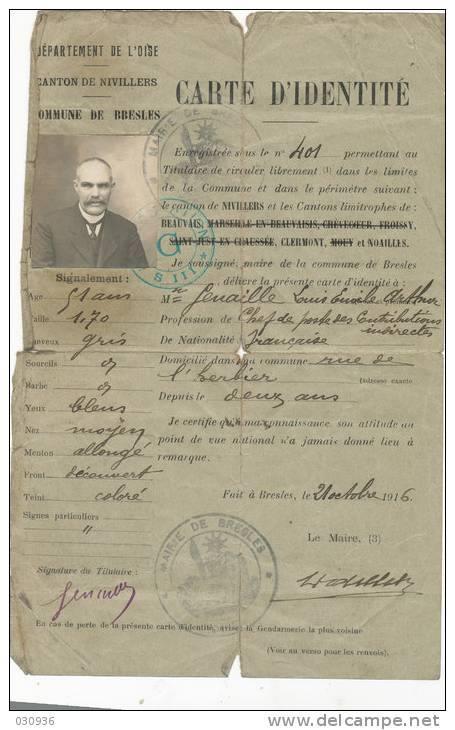 Cartes d'identité 19601110