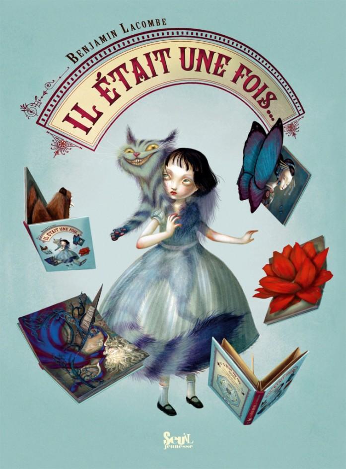 Alice au pays des merveilles, illustré par Benjamin Lacombe. Pop-up10