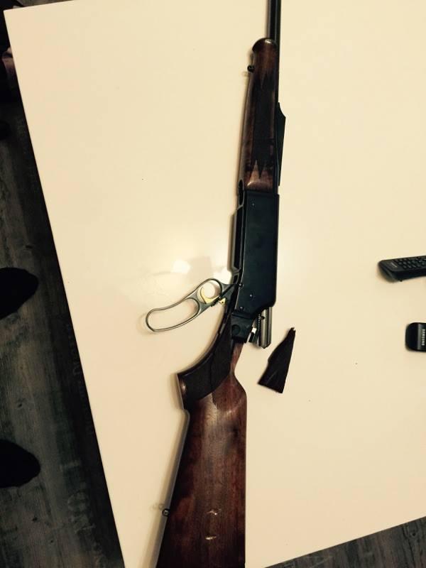problème envoie carabine par la poste  12607110