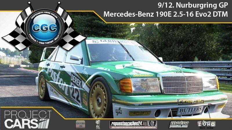 4º EVENTO PROJECT CARS PS4. Nurburgring GP con el Mercedes-Benz 190E 2.5-16 Evo  Evento11