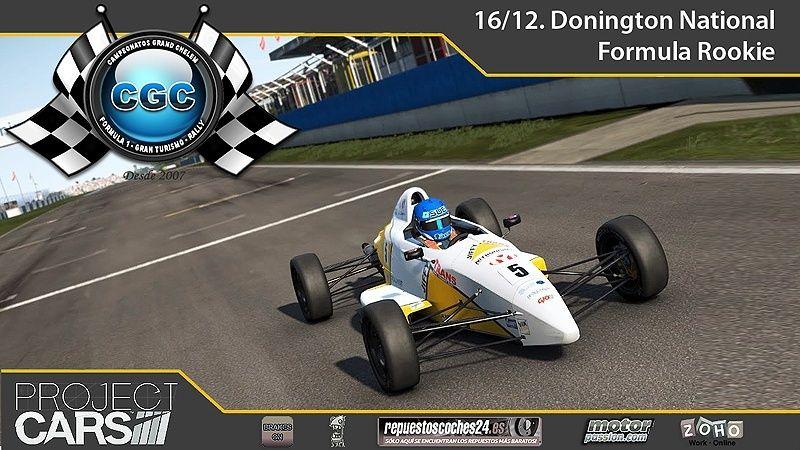 5º EVENTO PCARS. 16/12. Donington National. FÓRMULA ROOKIE Evento12