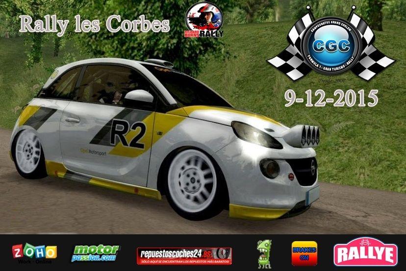 15º evento de Temporada Rally les Corbes CGC Logo11
