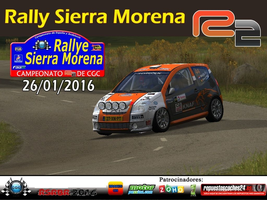 Roadbook rally Sierra Morena R2 Logo15
