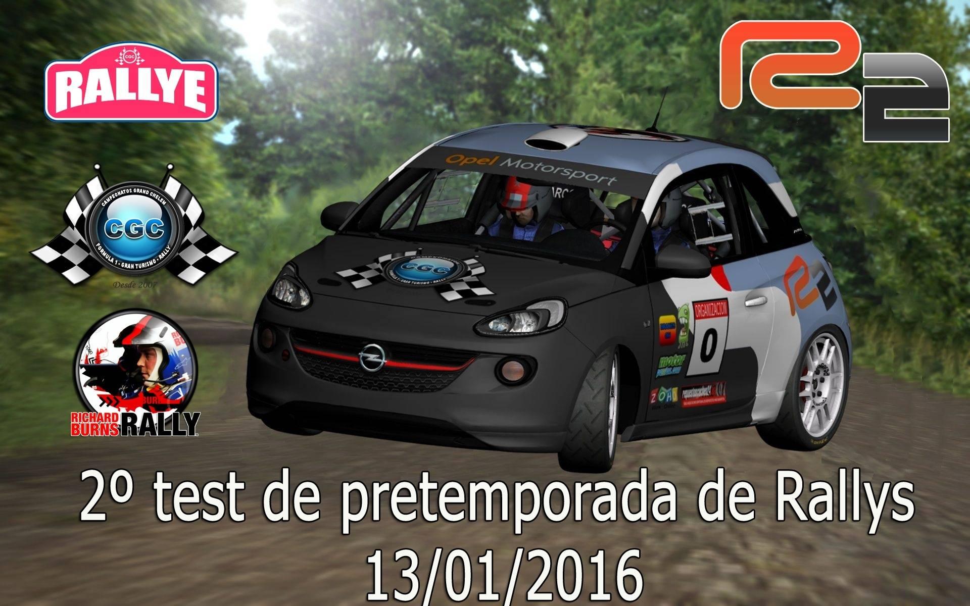 2º Test de Pre-Temporada RSRBR 2016  Logo_210