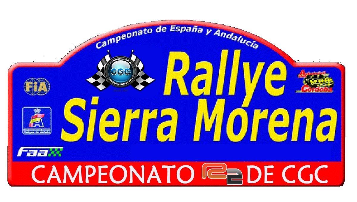 Confirmación para el Shakedown Rally Sierra Morena R2 2016 Logo_c10
