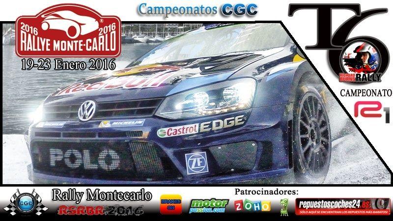 Roadbook rally Montecarlo R1 Logo_m16