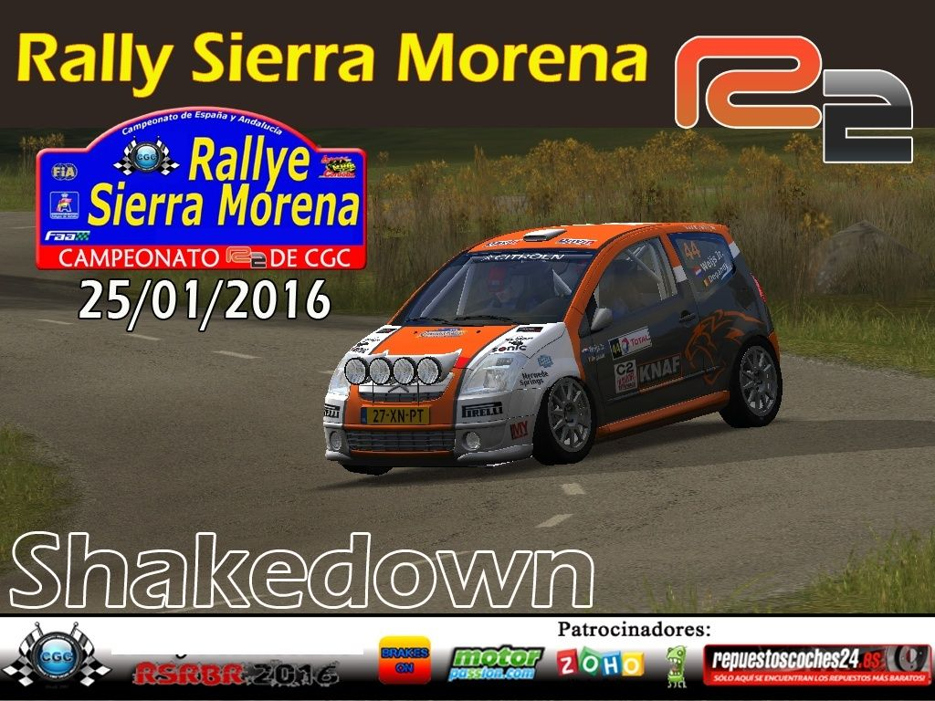 Confirmación para el Shakedown Rally Sierra Morena R2 2016 Logo_s11