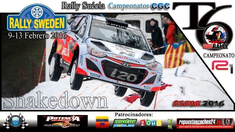 Confirmación para el Shakedown Rally Suécia R1 2016 Planti20