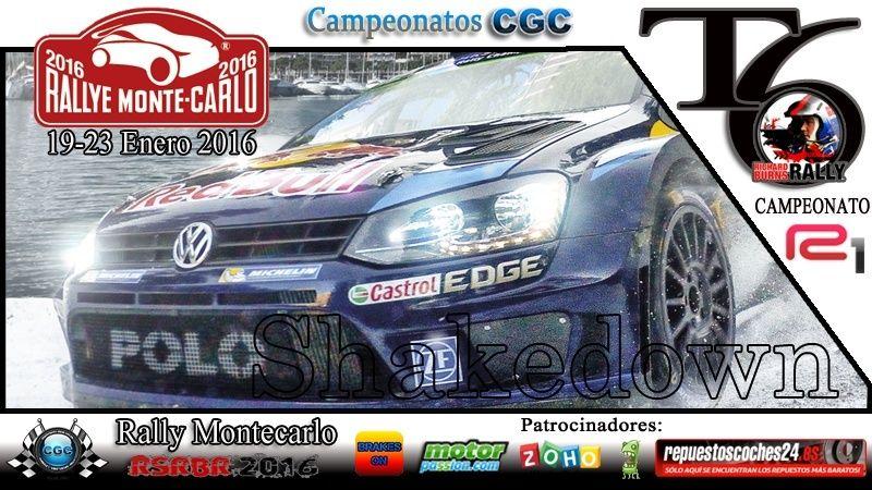 Confirmación Shakedown Rally Montecarlo R1 19/01/2016 Shake10