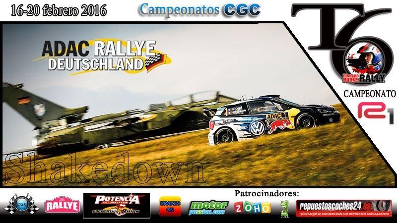 Confirmación para el Shakedown Rally Alemania R1 2016 Shake12