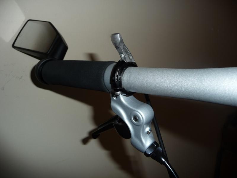 Commande de dérailleur pour 3 pignons sur une roue libre [Brompton 9 vitesses] •  P1030110