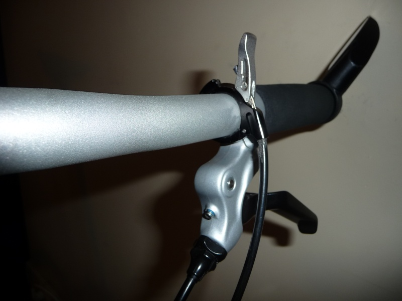 Commande de dérailleur pour 3 pignons sur une roue libre [Brompton 9 vitesses] •  P1030113