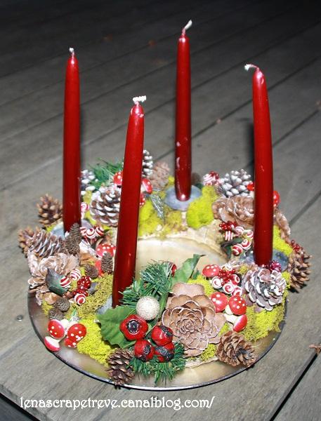 27 novembre: Adventskranz Couron11