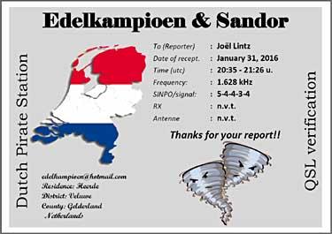 eQSL de EDELKAMPIOEN & SANDOR Edelka10