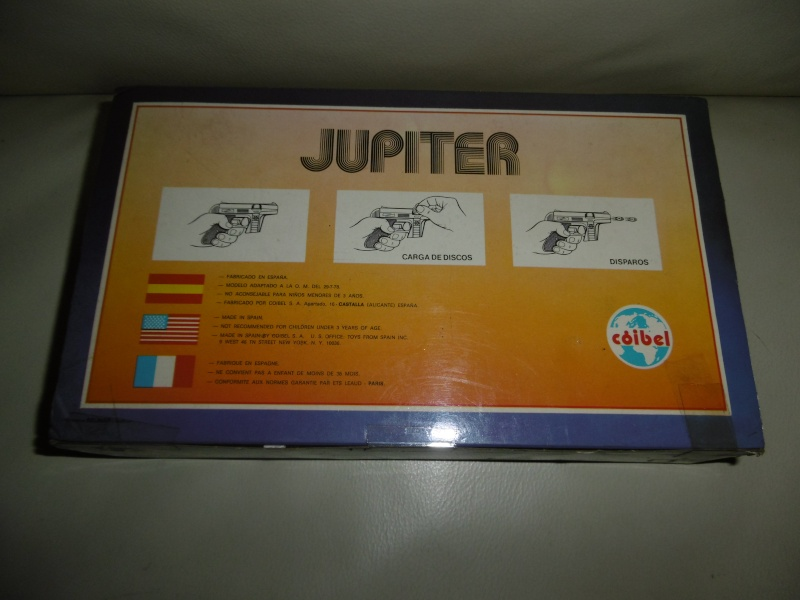 PISTOLA SPAZIALE IN METALLO JUPITER by COIBEL SPAIN - STAR TREK P1010513