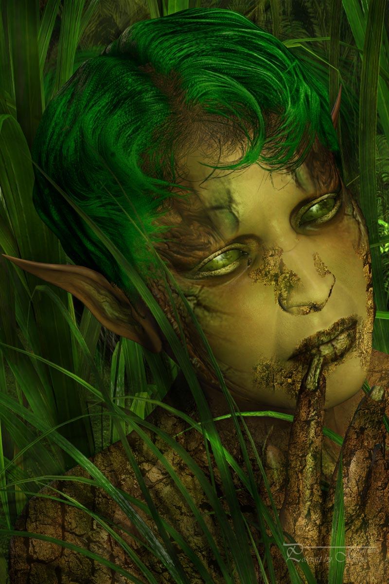 Die Elfe im Grass 038n14
