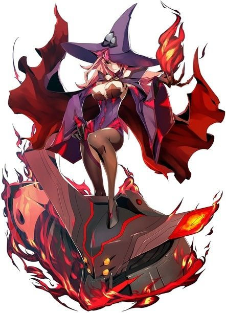 Blazblue Central Fiction (F/F MC EC) *HEAVY SPOILERS* Nine_t10