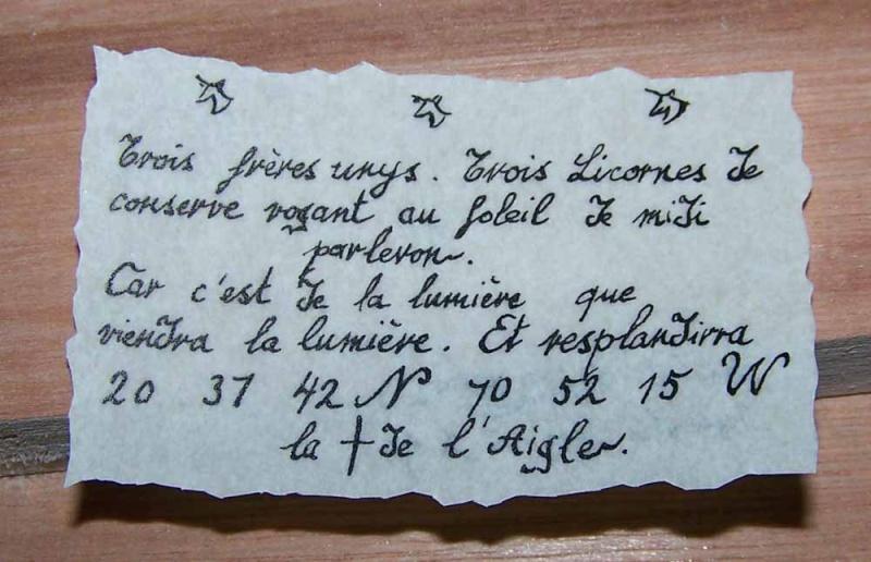 """""""La Licorne"""" sur base du kit Hachette 100_2710"""