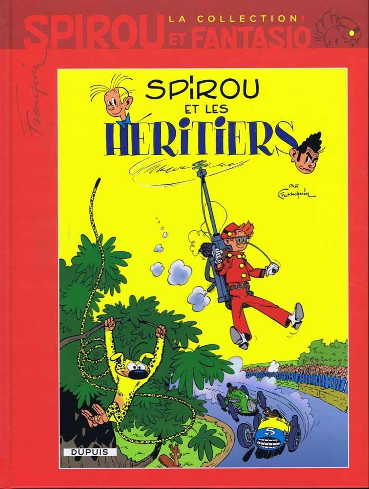 "la Maserati de ""Spirou et les héritiers"" Spirou10"