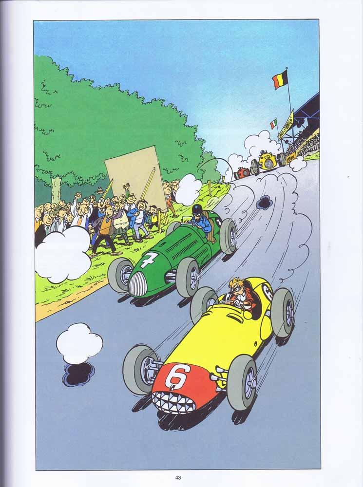 """la Maserati de """"Spirou et les héritiers"""" - Page 5 Spirou11"""