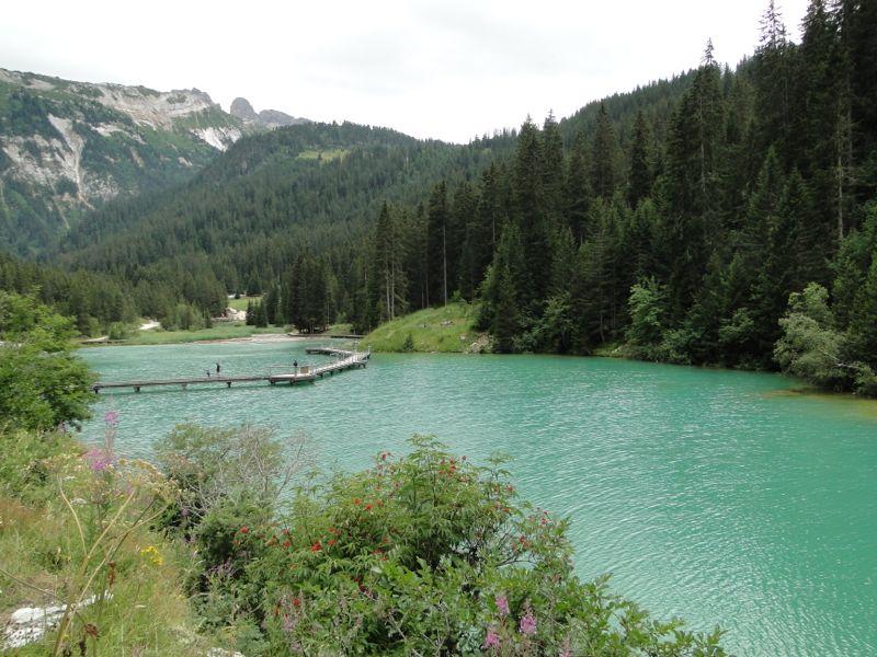 Bozel - la Dent du Villard - lac de la Rosière Dsc03735