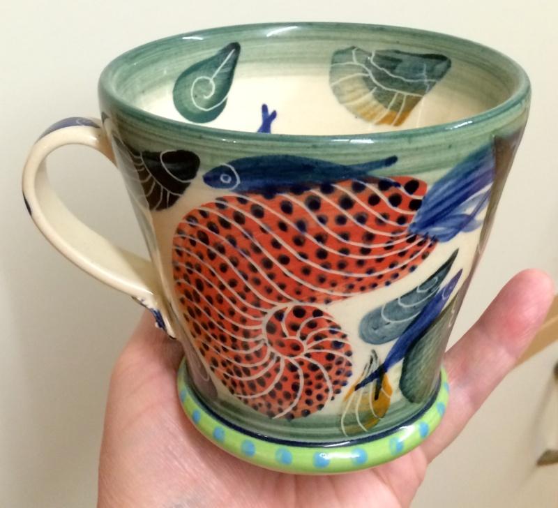 Pru Green, Gwili and Wivenhoe Potteries Image189