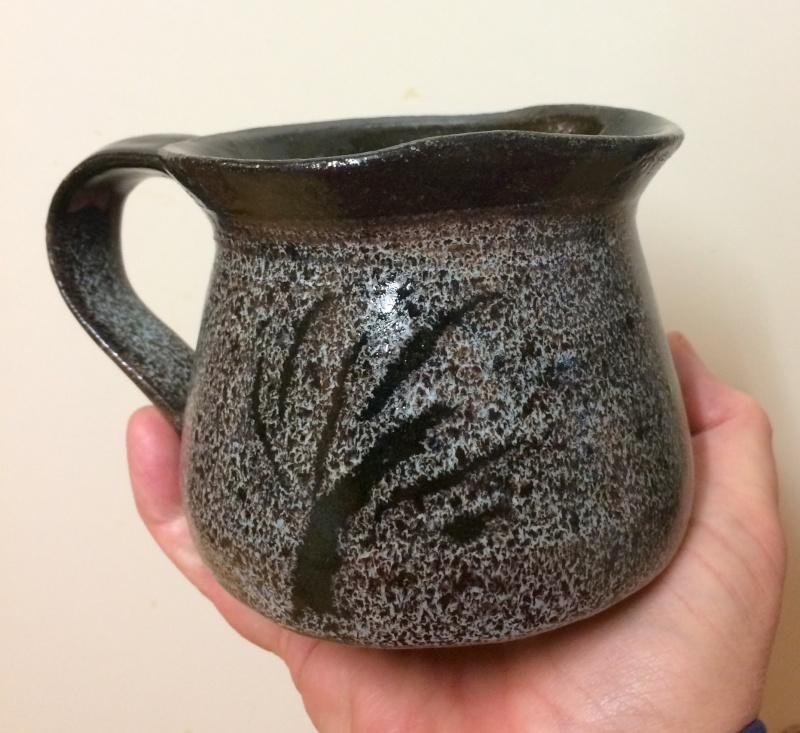 Nuka glazed jug, rabbit mark Image353