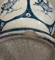Tin glazed maiolica vase, bird motif - Benlloch Pottery, Spain Image268