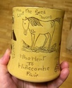 Widecombe Fair slipware mug - Devon Tors Pottery, Bovey Tracey Image294