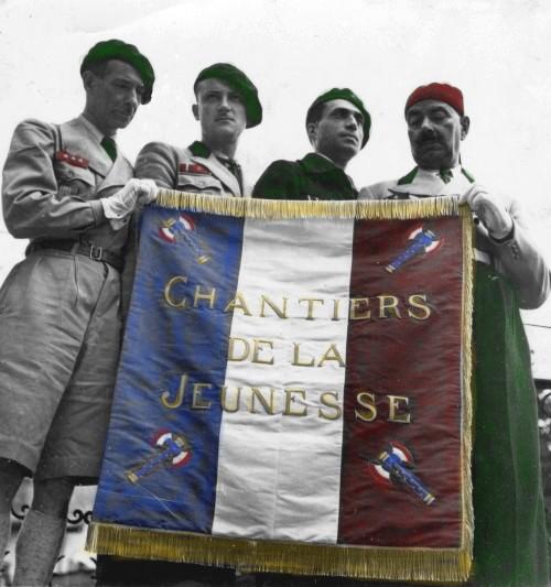 jeunesse - Drapeau Générale des Chantiers de la Jeunesse ... 02-02-10