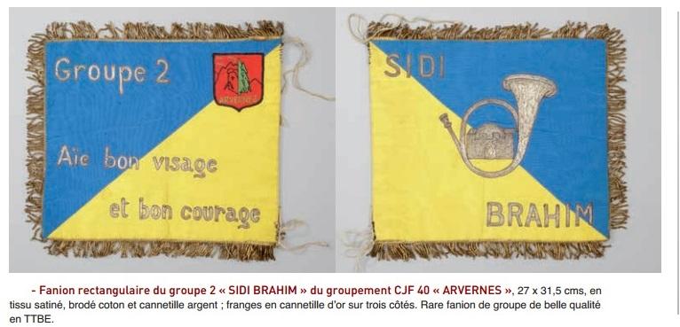 """groupe - Fanion du Groupement 40 """"ARVERNES """" groupe N°2 Fanion11"""