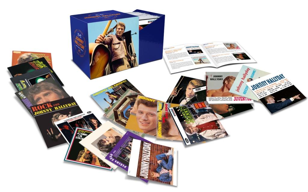 Les visuels de la collection papersleeves des 20 albums étrangers 06007112