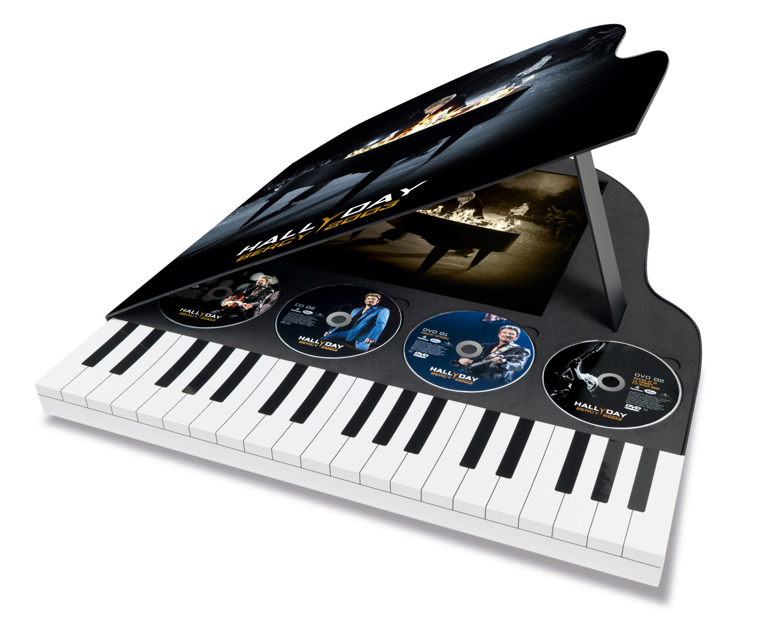 Le coffret piano en feu 06024320