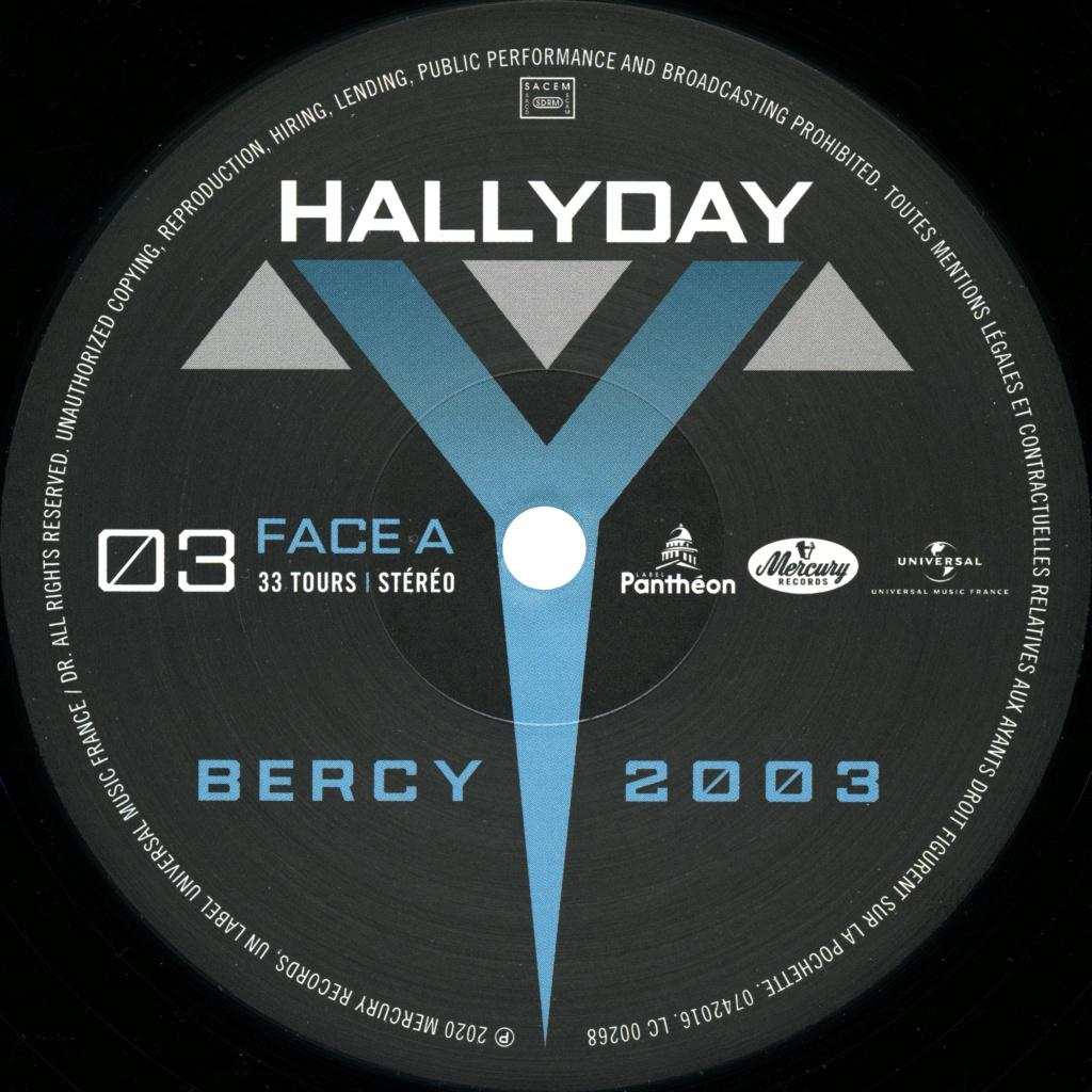 Le coffret 4 LP Bercy 2003 2020-100