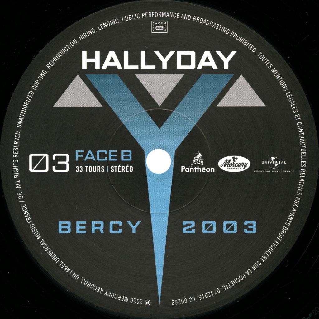 Le coffret 4 LP Bercy 2003 2020-101