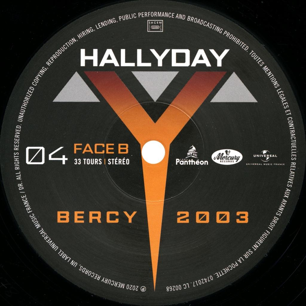 Le coffret 4 LP Bercy 2003 2020-102