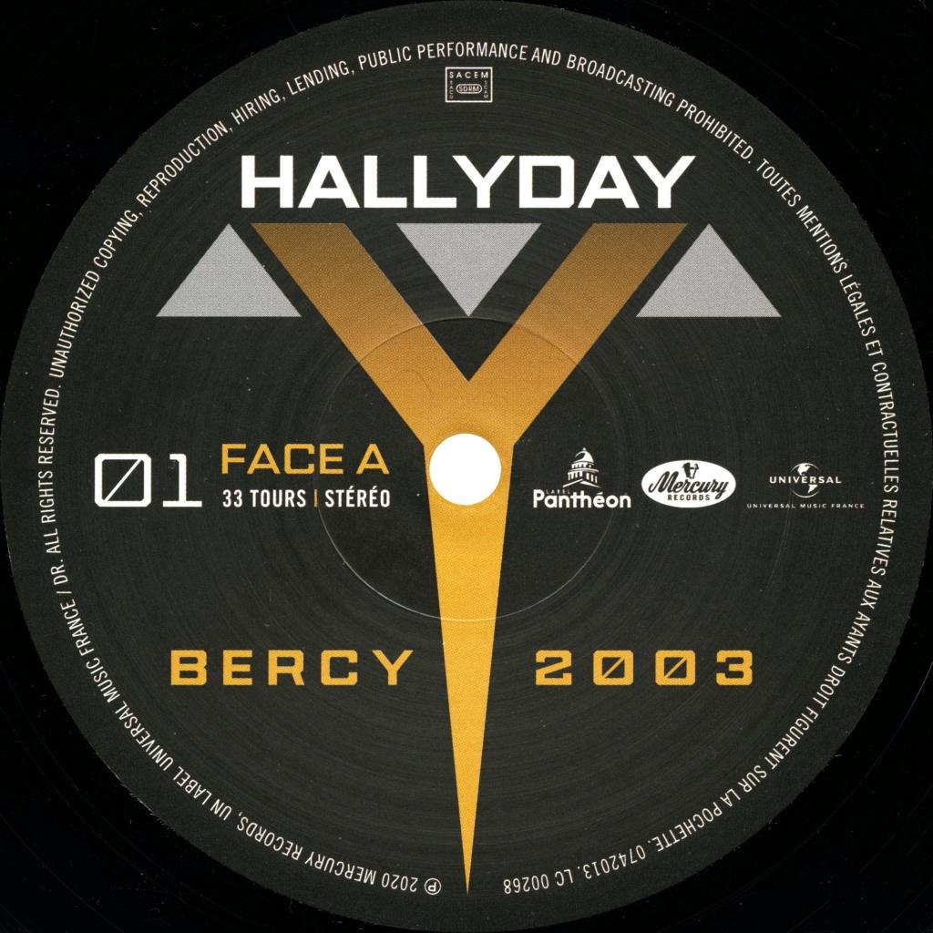 Le coffret 4 LP Bercy 2003 2020-108